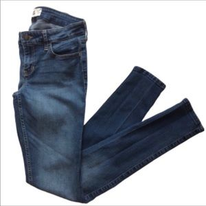 HOLLISTER Super Skinny Distressed Low Rise Jeans 5